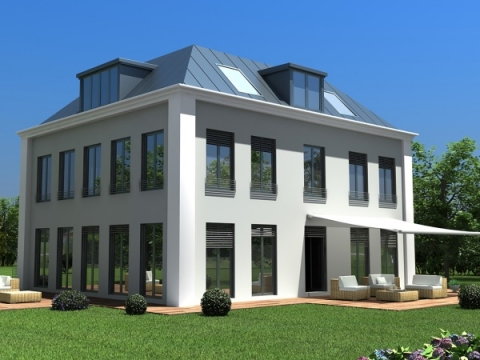 Rendering Visualisierung Exterieur Architektur